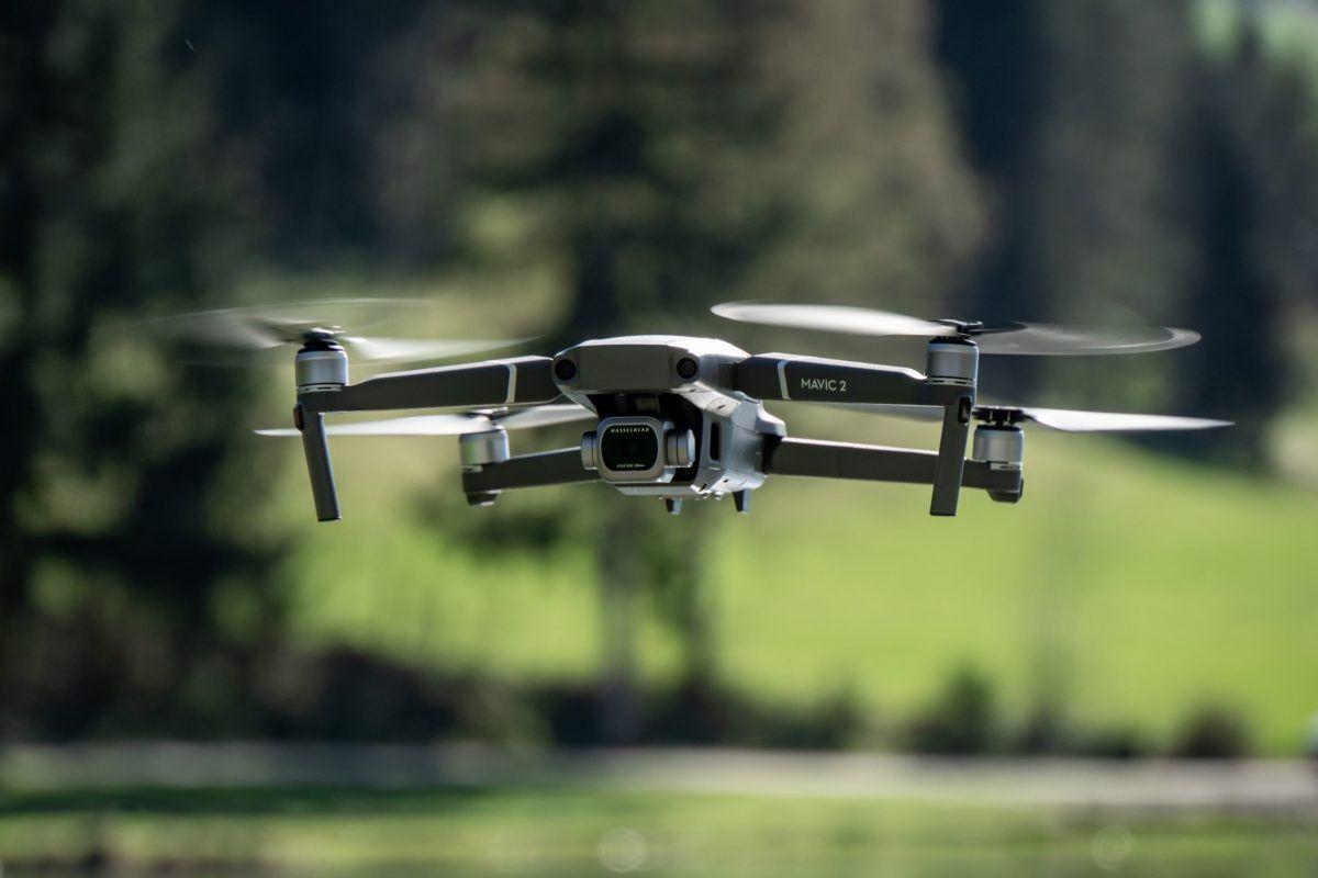 Das Spiel mit der Drohne